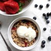 Red, White, & Blue Berry Crisp