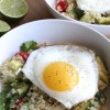 Cilantro-Lime Quinoa Breakfast Bowl