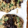 Lentil and Rice Stuffed Portobellos with Caramelized Onions