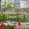 Vegetarian Travel: Denver, Colorado {Day 1}