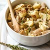 Creamy Garlic, Thyme, and Roasted Cauliflower Pasta