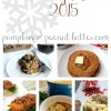 Vegetarian Holiday Menu 2015