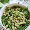 Green Goddess Pasta Salad with Cilantro Lime Dressing
