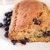 Whole Wheat Blueberry Zucchini Loaf