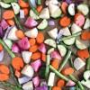 Balsamic Roasted Spring Vegetables