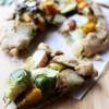 Whole Wheat Roasted Vegetable & Pesto Galette