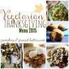 A Vegetarian Thanksgiving Menu