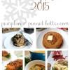 Vegetarian Holiday Menu 2015