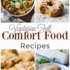 10 Favorite Fall Comfort Food Recipes
