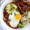 Three Bean Frijolada with Cilantro Lime Rice