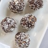 Dark Chocolate Coconut Energy Balls