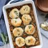 Autumn Vegetable Biscuit Pot Pie