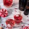 Rosemary Pomegranate Prosecco Spritzers