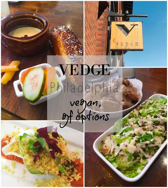 Vedge Restaurant Menu Philadelphia