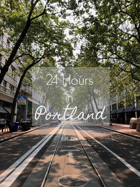 24 Hours in Portland   pumpkin & peanut butter