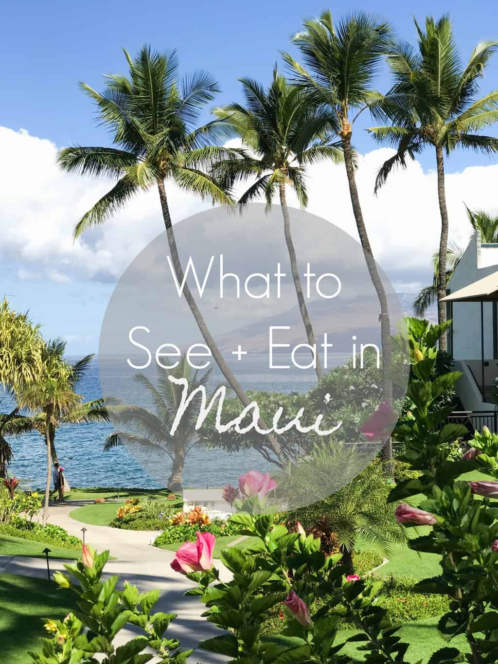 What to See and Eat in Maui | pumpkin & peanut butter